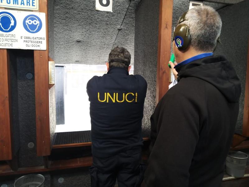 gara di tiro con Pistola organizzata da UNUCI